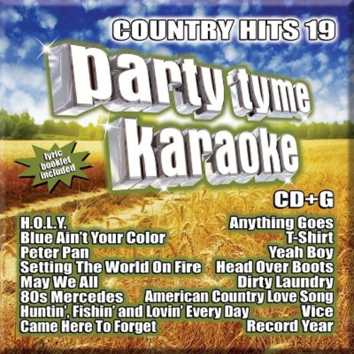 Various - Party Tyme Karaoke:Country Hits 19 (CD)