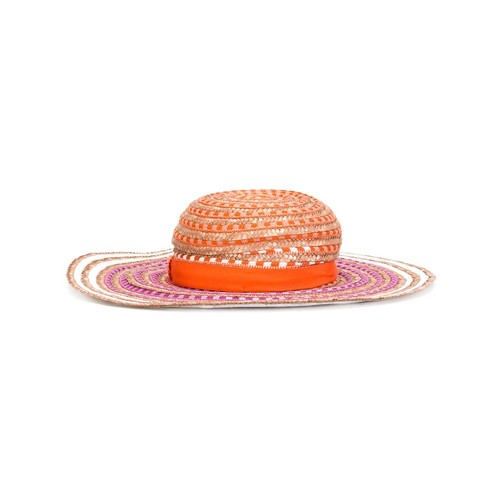 MISSONI Striped Woven Hat