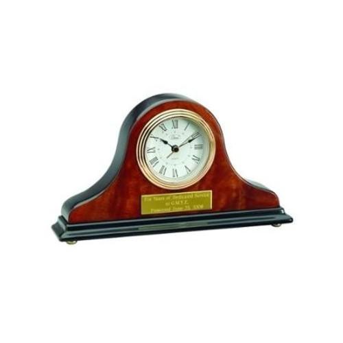Tambour Mantel Clock - Engravable Personalized Gift Item