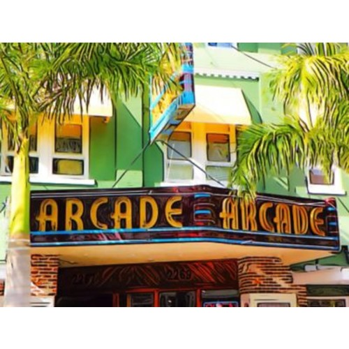 Graffitee Studios 'Arcade' Painting Print on Wrapped Canvas