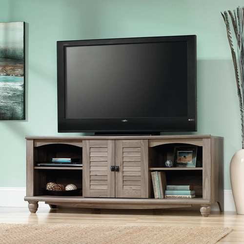 Sauder Harbor View Entertainment Credenza for TVs up to 60