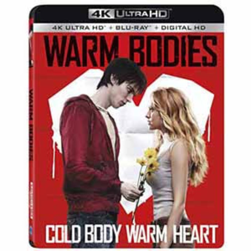 Warm Bodies [4K UHD] [Blu-Ray] [Digital HD]