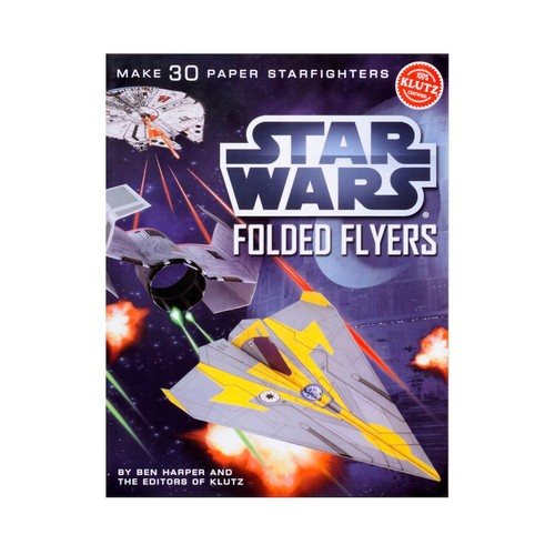 Klutz Star Wars Folded Flyers: Make 30 Paper Starfighters Craft Kit [Multicolor, None]
