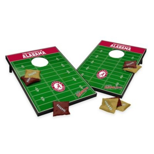 NCAA University of Alabama Field Tailgate Toss Cornhole Game