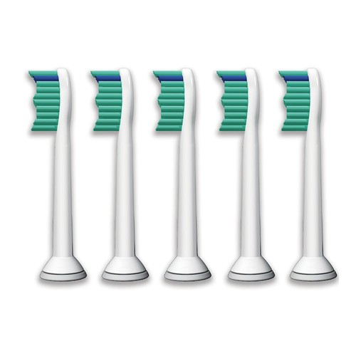 Philips Sonicare Replacement Toothbrush Heads, 5 Pack, HX6015/03
