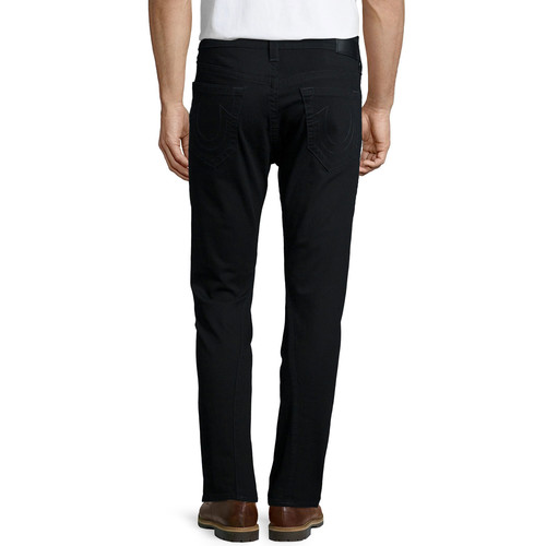Mick Slouchy Skinny Denim Jeans, Black