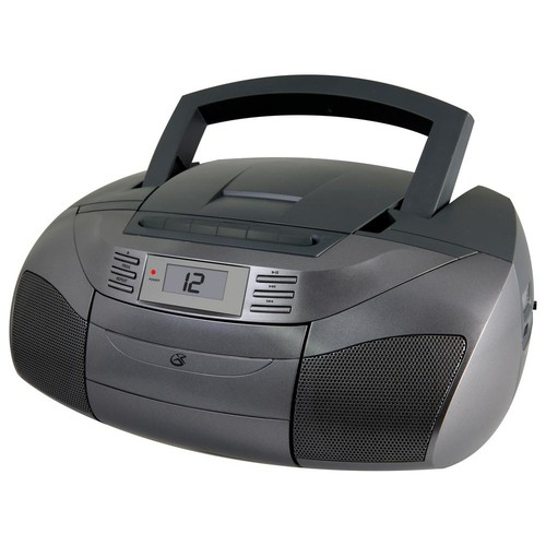 GPX Stereo Boom Box with CD, AM/FM, Cassette