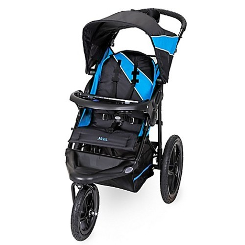 Baby Trend Xcel Jogger Stroller in Mosaic Blue