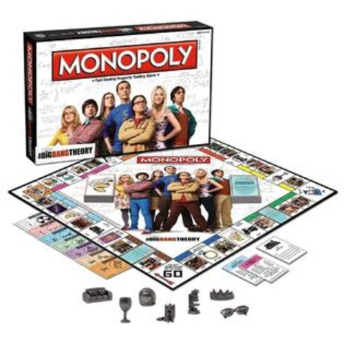 USAopoly Monopoly: The Big Bang Theory TV Show Special Edition Board Game USAopoly MN010371