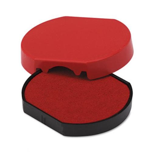 Trodat T46140 Dater Replacement Pad, 1-5/8, Red