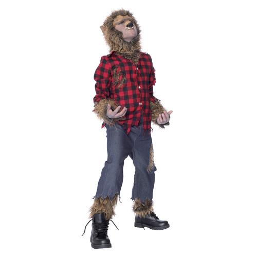 Boy's Wolf Man Costume