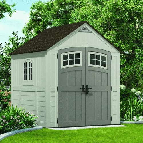Suncast 7X7 Blow Molded Resin Storage Shed - BMS7790