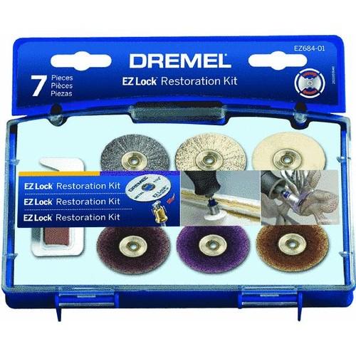 Dremel EZ Lock Sanding/Polishing Rotary Tool Accessory Kit - EZ684-01