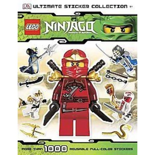 LEGO Ninjago Ultimate Sticker Collection (Paperback) by Shari Last