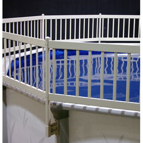 Vinyl Works 3-Section Above Ground Pool Fence Kit