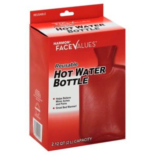 Harmon Face Values Reusable Hot Water Bottle