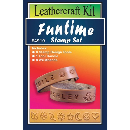 Silver Creek Funtime Stamp Set Leather Kit