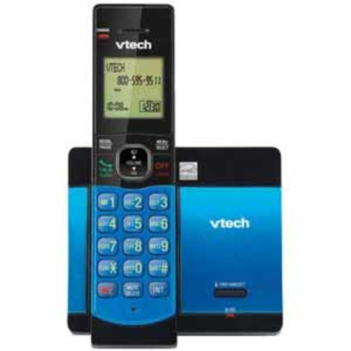 Vtech CS5119-15 Cordless Phone with Caller ID/Call Waiting - Blue