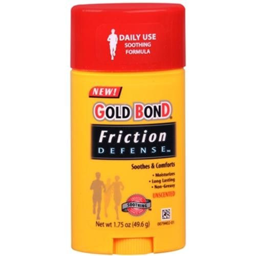 Gold Bond Friction Defense Stick Unscented 1.75 oz (Pack of 6)