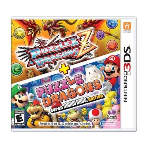 Puzzle Dragons Z + Puzzle Dragons Super Mario Bros. Edition - Nintendo 3DS - Email Delivery