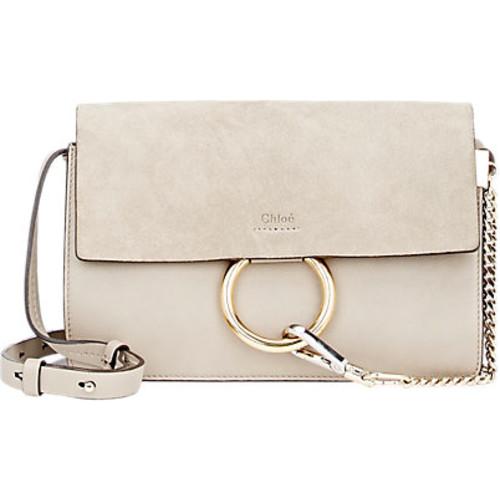 Chlo Faye Medium Leather Shoulder Bag