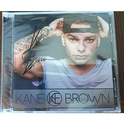 Autographed Kane Brown Self Titled Debut CD Signed Booklet