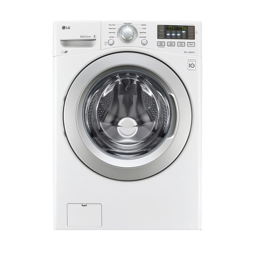 LG Electronics 4.5 cu. ft. High Efficiency Front Load Washer in White, ENERGY STAR