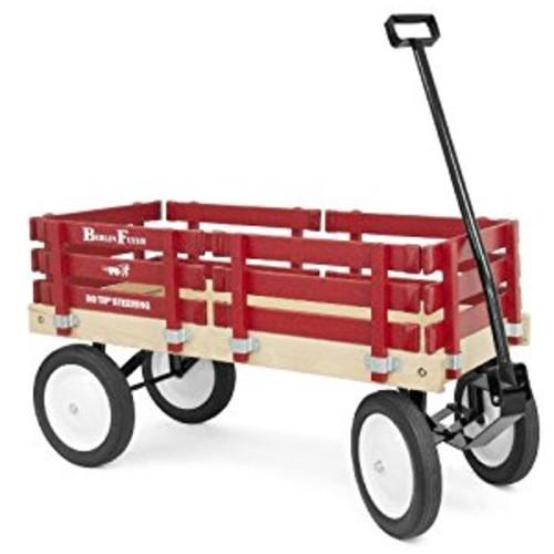 Berlin F310 Amish-Made Flyer Wagon, Red [Red]
