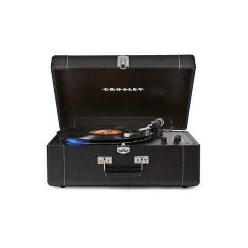 Crosley Keepsake Deluxe Portable USB Turntable -Black