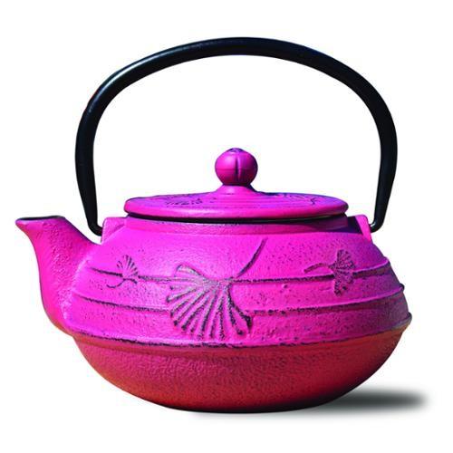 Dutch Ginko 2.75-Cup Teapot in Fuchsia