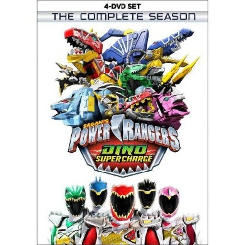 Power Rangers Dino Super Charge Compl (DVD)