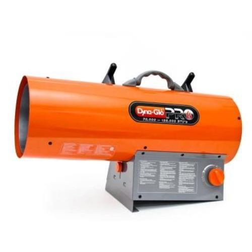 Dyna-Glo Pro 125K BTU Forced Air LP Gas Portable Heater