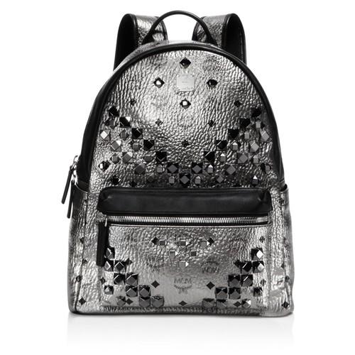 MCM Stark Medium Stud Backpack