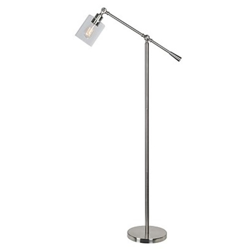 Kenroy Home Incandescent Floor Lamp Brushed Steel Finish (32975BS)