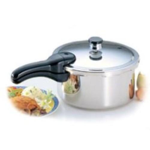 Presto 01341 Steel Pressure Cooker 4qt