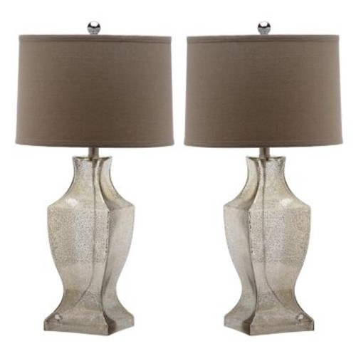 Safavieh 2-piece Glass Lamp Set