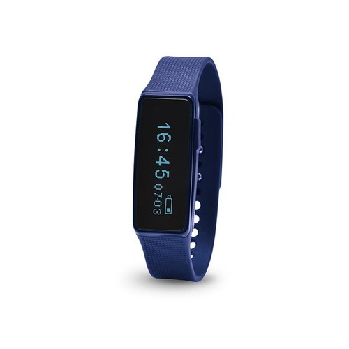 Nuband Activ + Navy Activity and Sleep Tracker Band, Bluetooth Enabled App for Apple and Android - Blue