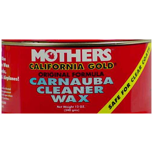 Mothers California Gold Paste Automobile Wax 12 oz. For All Paint Surfaces(05500)