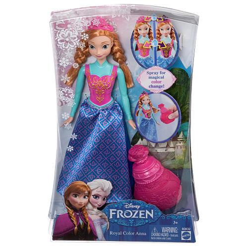 Disney Frozen Royal Color Anna Doll