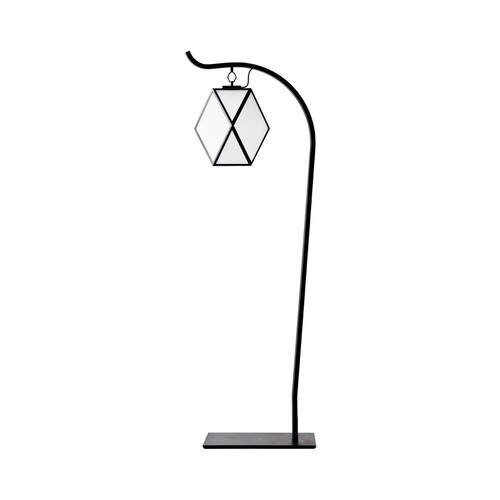Muse Outdoor Floor Lamp [Finish : Matte Black]