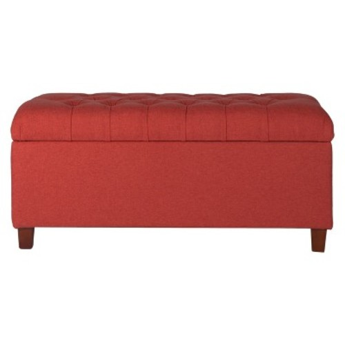 Tufted Storage Bench - HomePop