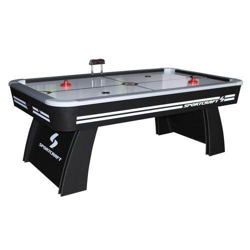 Sportcraft 7' Air Hockey & Table Tennis Table