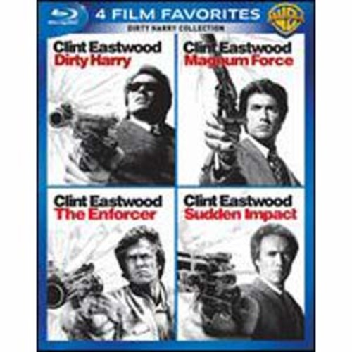 Dirty Harry Collection: 4 Film Favorites [4 Discs] [Blu-ray]