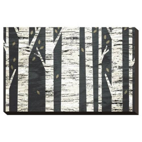 Birch Forest By Michael Mullan Stretched Canvas Print