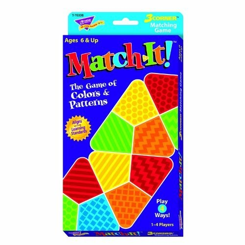 Trend Enterprises Match-It! Learning Game (35 Piece)