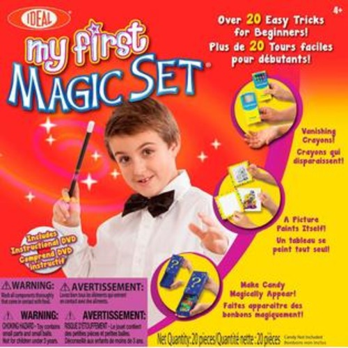 POOF-Slinky Ideal My First Magic Set with Instructional DVD