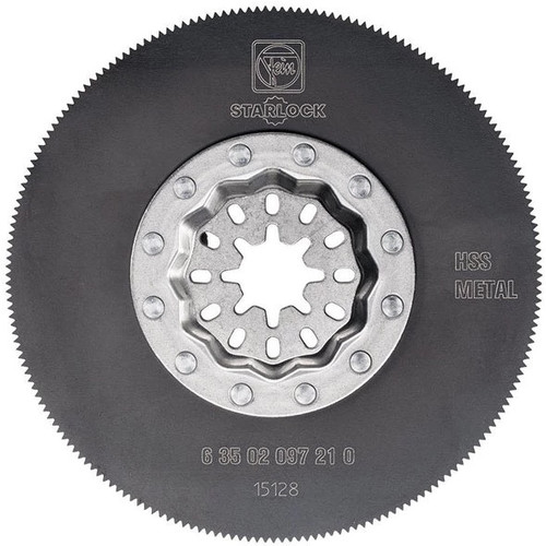 Fein 63502097210 Oscillating Segmented High Speed Steel Saw Blade, 3-3/8