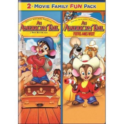 An American Tail 2-Movie Family Fun Pack: An American Tail / Fievel Goes West (Full Frame)