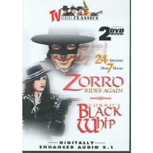 Zorro-Rides Again / Black Whip