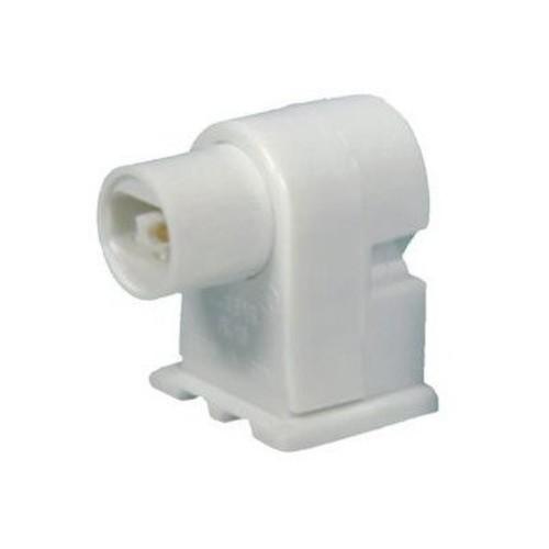 Morris 45234 High Output Fluorescent Lamp Holder Plunger, White